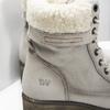 Kožená zimná obuv s kožúškom bata, béžová, 696-3336 - 16