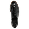 Lakované dámske poltopánky bata, čierna, 521-6606 - 19