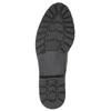 Lakované dámske poltopánky bata, čierna, 521-6606 - 26