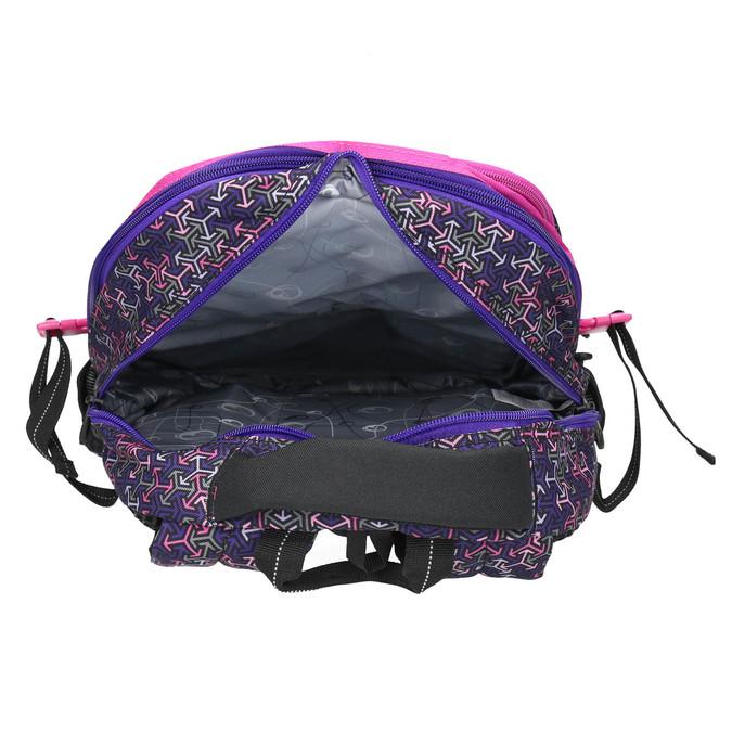 Školský batoh bagmaster, fialová, 969-5648 - 15