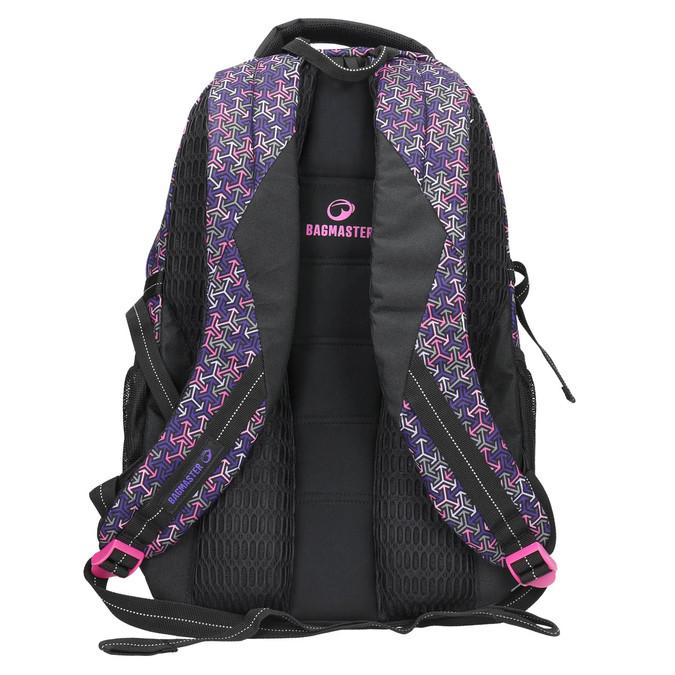 Školský batoh bagmaster, fialová, 969-5648 - 19