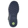 Kožená detská členková obuv mini-b, modrá, 413-9175 - 19