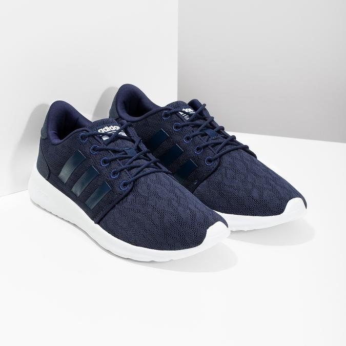 Modré tenisky športového strihu adidas, modrá, 509-9112 - 26