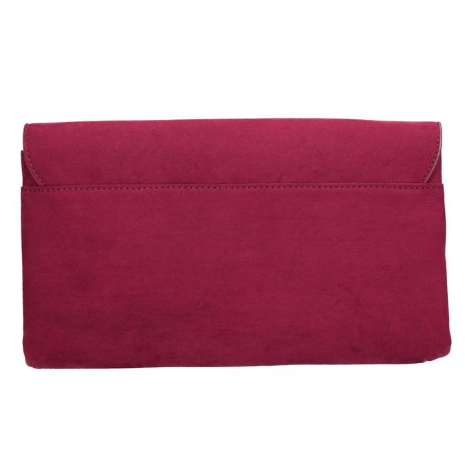 Dámska vínová listová kabelka bata, červená, 969-5665 - 26