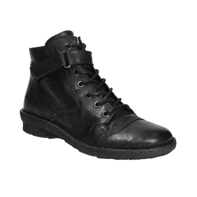 Členková dámska obuv bata, čierna, 596-6656 - 13