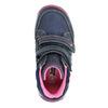 Dievčenská obuv na suchý zips bubblegummers, modrá, 221-9607 - 26