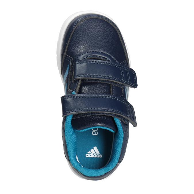 Detské tenisky na suchý zips adidas, modrá, 101-9161 - 15