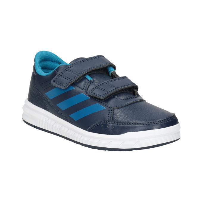 Modré detské tenisky adidas, modrá, 301-9197 - 13