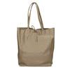 Dámska kožená kabelka s mašľou bata, béžová, 964-2122 - 26