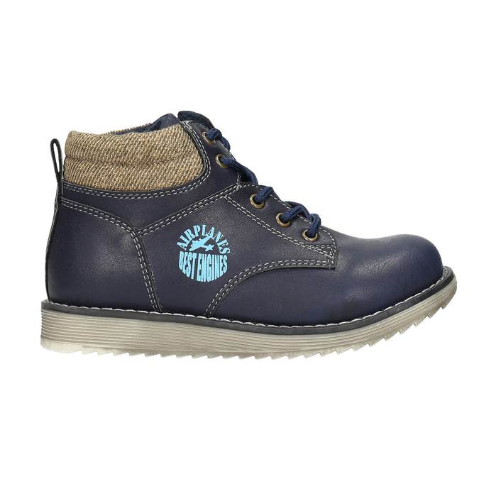 Členková chlapčenská obuv bubblegummers, modrá, 211-9623 - 15