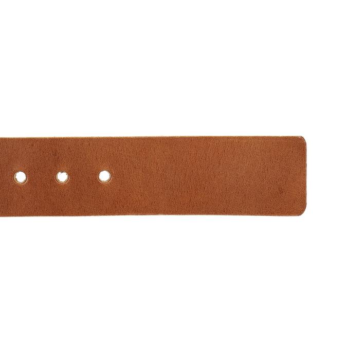 Kožený pánsky opasok bata, hnedá, 954-3191 - 16