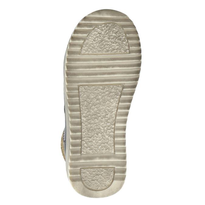 Členková chlapčenská obuv bubblegummers, modrá, 211-9623 - 19