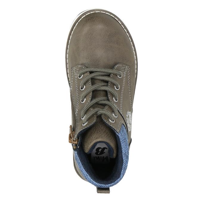 Chlapčenská členková obuv mini-b, hnedá, 211-3623 - 26