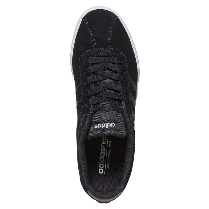 Ležérne dámske tenisky adidas, čierna, 501-6229 - 19