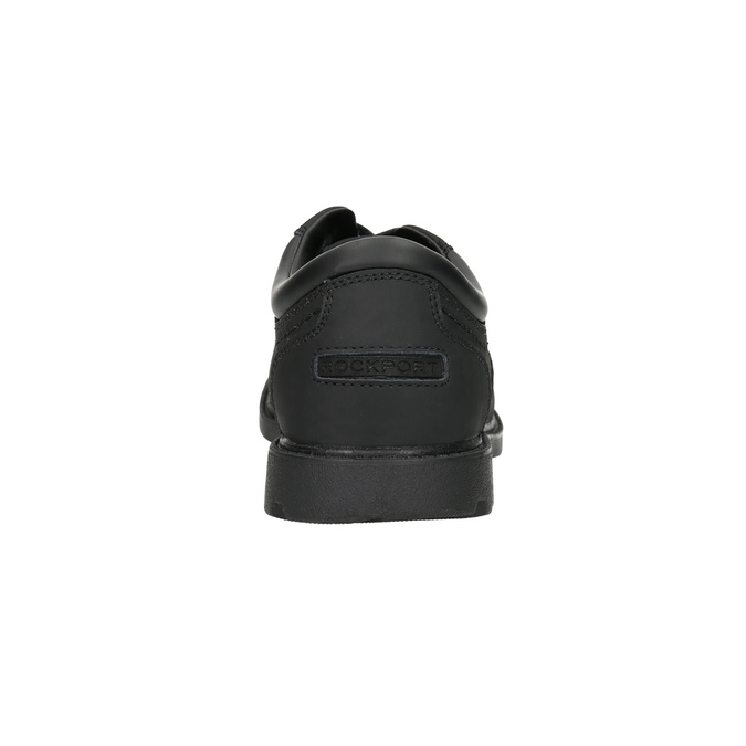 Pánske kožené poltopánky rockport, čierna, 826-6023 - 17