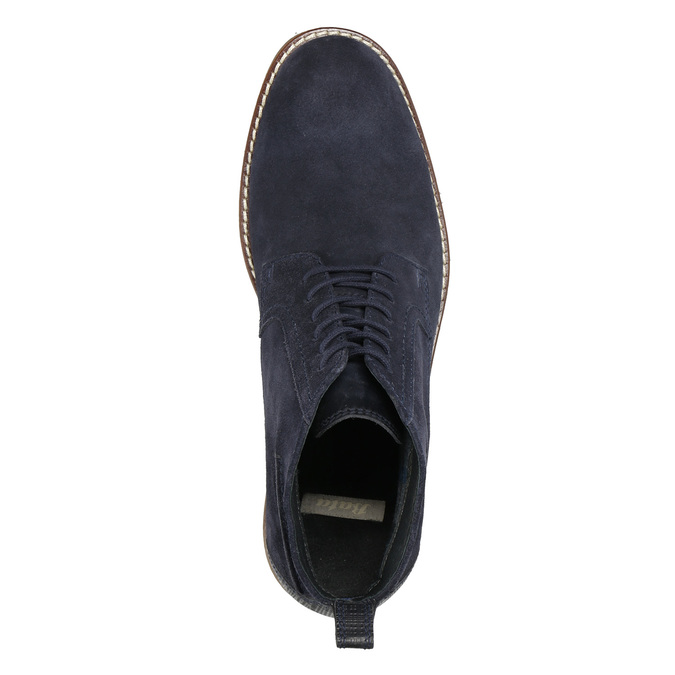 Modrá členková obuv bata, modrá, 823-9615 - 26