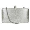 Strieborná listová kabelka bata, strieborná, 969-1660 - 26