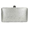 Strieborná listová kabelka bata, strieborná, 969-1660 - 19
