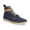 Kožená kotnikova obuv na šněrování weinbrenner, modrá, 594-9323 - 13