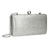 Strieborná listová kabelka bata, strieborná, 969-1660 - 13