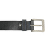 Čierny kožený opasok bata, čierna, 954-6192 - 26