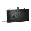 Pevná dámska listová kabelka bata, čierna, 969-6660 - 13