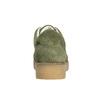 Dámske kožené khaki tenisky bata, zelená, 523-7604 - 17