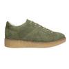 Dámske kožené khaki tenisky bata, zelená, 523-7604 - 15