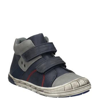 Detská členková obuv mini-b, modrá, 211-9624 - 13
