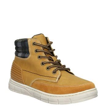 Detská zimná obuv s výraznou podrážkou mini-b, hnedá, 311-8611 - 13