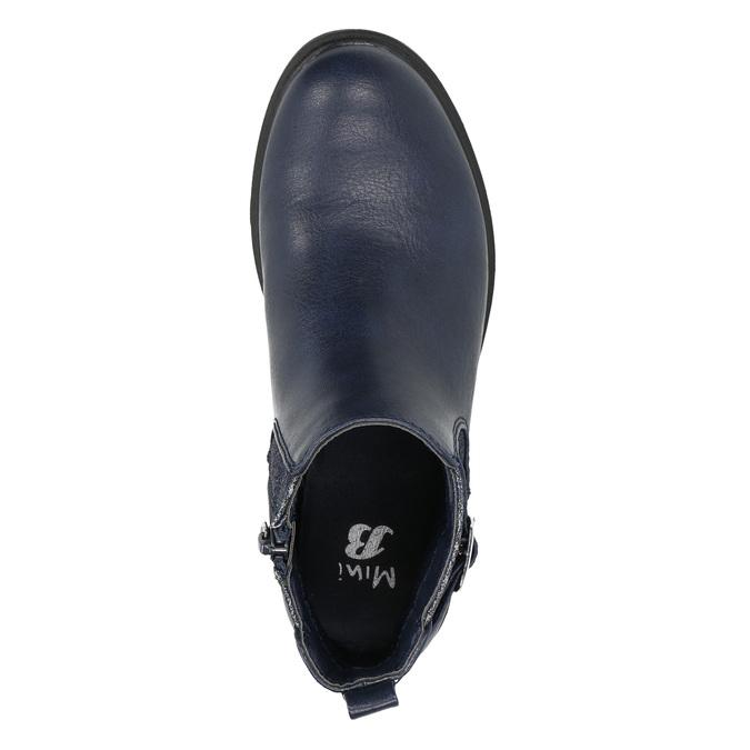 Modrá detská Chelsea obuv mini-b, modrá, 321-9613 - 19