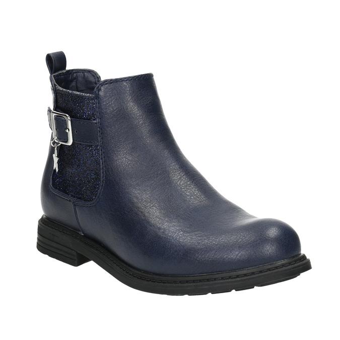 Modrá detská Chelsea obuv mini-b, modrá, 321-9613 - 13