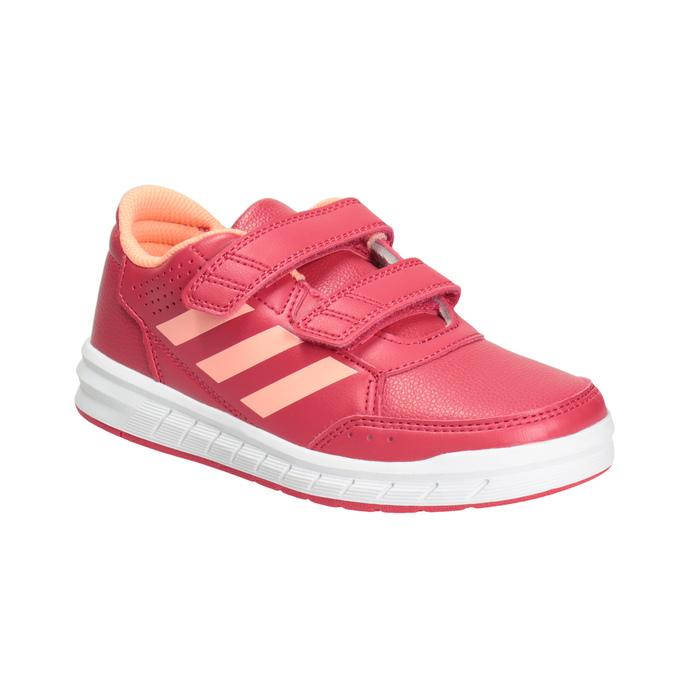 Ružové detské tenisky adidas, ružová, 301-5197 - 13