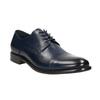 Pánske kožené Derby poltopánky bata, modrá, 826-9682 - 13