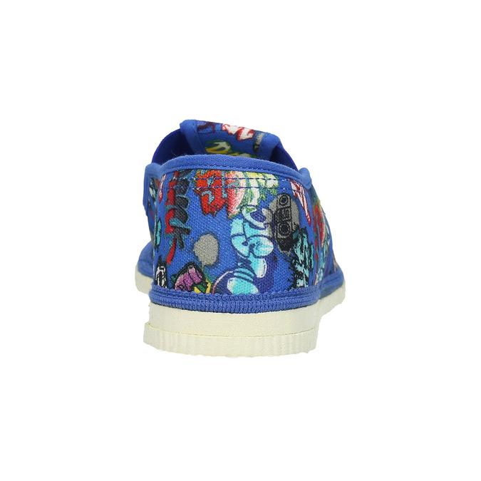 Detské modré prezuvky bata, modrá, 379-9124 - 16
