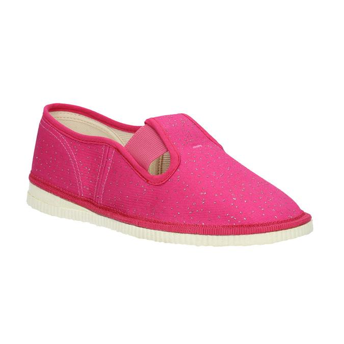 Ružové detské prezuvky bata, ružová, 279-5121 - 13