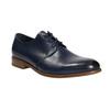 Modré kožené poltopánky bata, modrá, 826-9680 - 13
