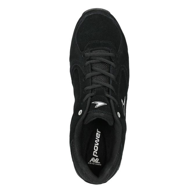 Pánske čierne tenisky power, čierna, 803-6228 - 15