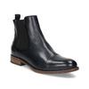 Dámska kožená Chelsea obuv bata, modrá, 594-9636 - 13