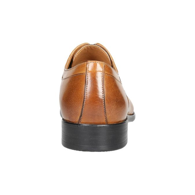 Kožené pánske Ombré poltopánky bata, hnedá, 824-3233 - 17