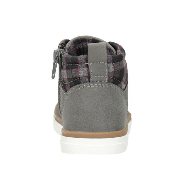 Detská členková obuv mini-b, šedá, 291-2172 - 16