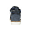 Detská členková obuv mini-b, modrá, 291-9172 - 16