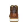 Hnedá kožená pánska členková obuv bata, hnedá, 846-3645 - 15