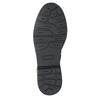 Detské kožené šnurovacie topánky bullboxer, čierna, 496-6016 - 17