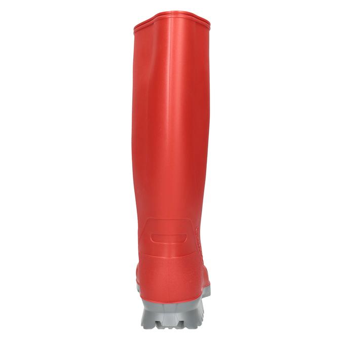 Dámske červené gumáky bata, červená, 592-5140 - 16
