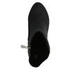 Členkové čižmy na podpätku bata, čierna, 699-6636 - 26