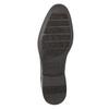 Hnedé kožené Derby poltopánky bata, hnedá, 824-4618 - 19