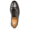 Hnedé ležérne poltopánky z kože bata, hnedá, 826-4914 - 26