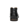 Kožená pánska členková obuv bata, čierna, 824-6913 - 17