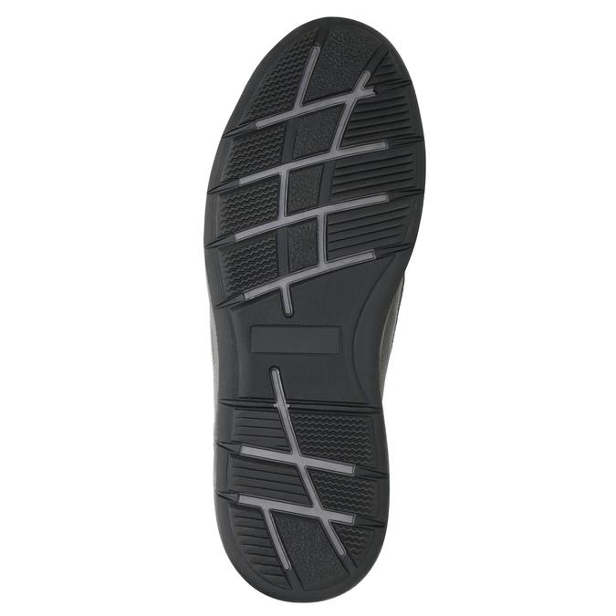 Pánske kožené tenisky bata, čierna, 824-6921 - 19